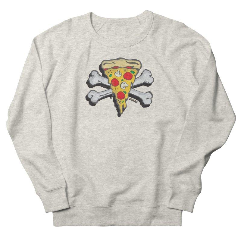 Pizza Men's Sweatshirt by Enjoy Denial