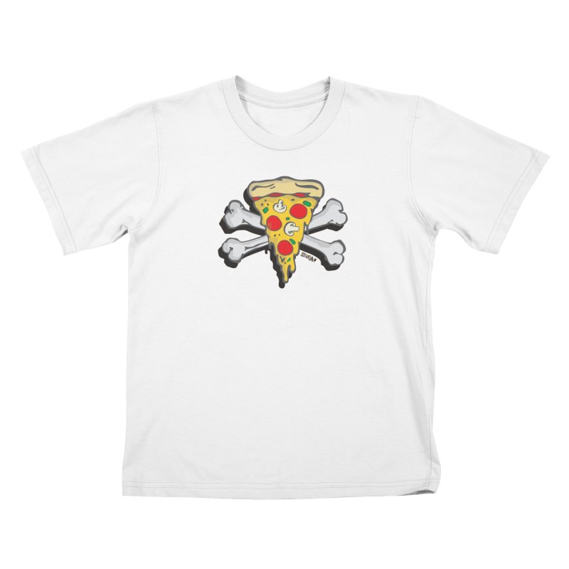 Pizza Kids T-Shirt by Enjoy Denial