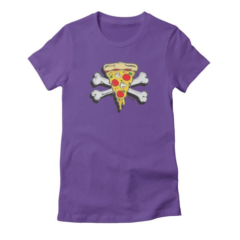 Pizza Women's T-Shirt by Enjoy Denial