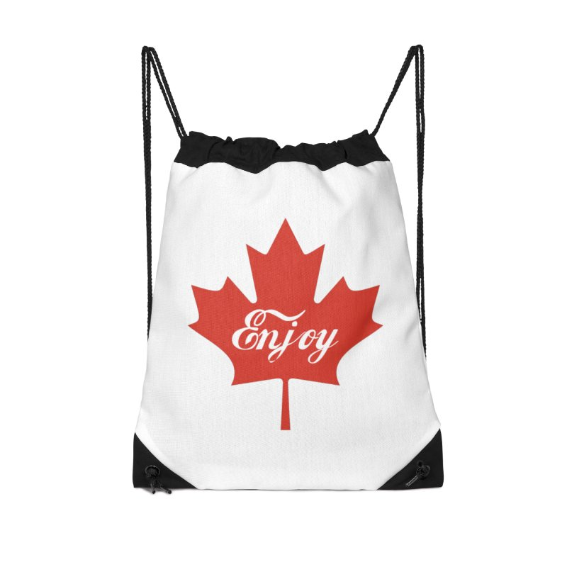 Enjoy Canada Accessories Drawstring Bag Bag by