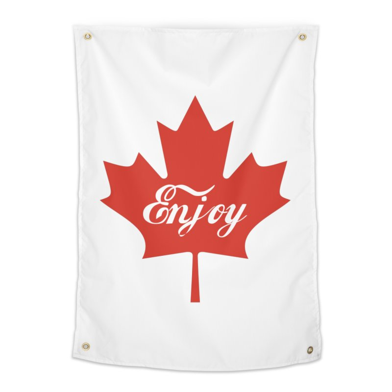 Enjoy Canada Home Tapestry by