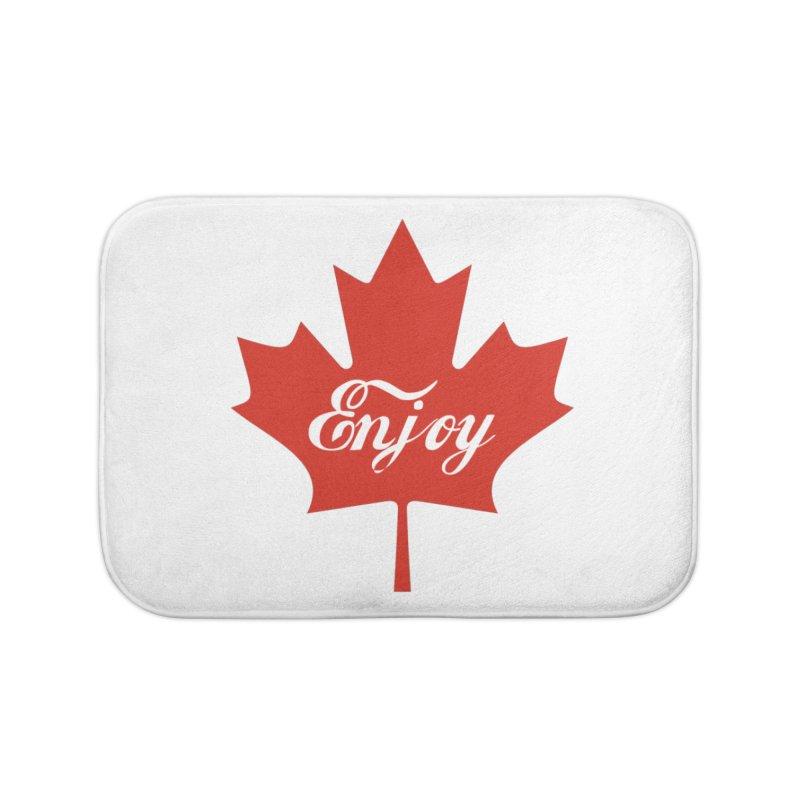 Enjoy Canada Home Bath Mat by