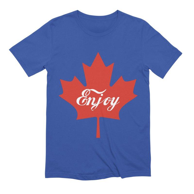 Enjoy Canada Men's Extra Soft T-Shirt by