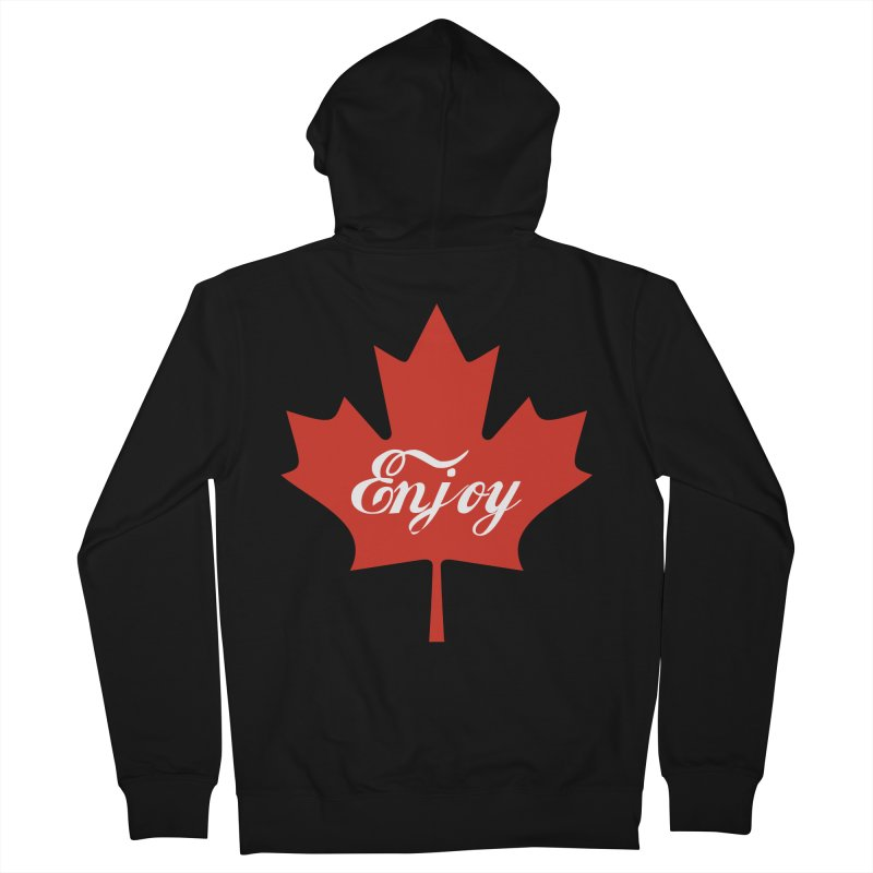 Enjoy Canada Women's French Terry Zip-Up Hoody by