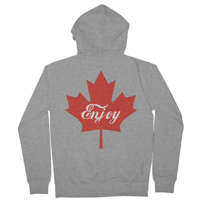 Enjoy Canada Men's French Terry Zip-Up Hoody by