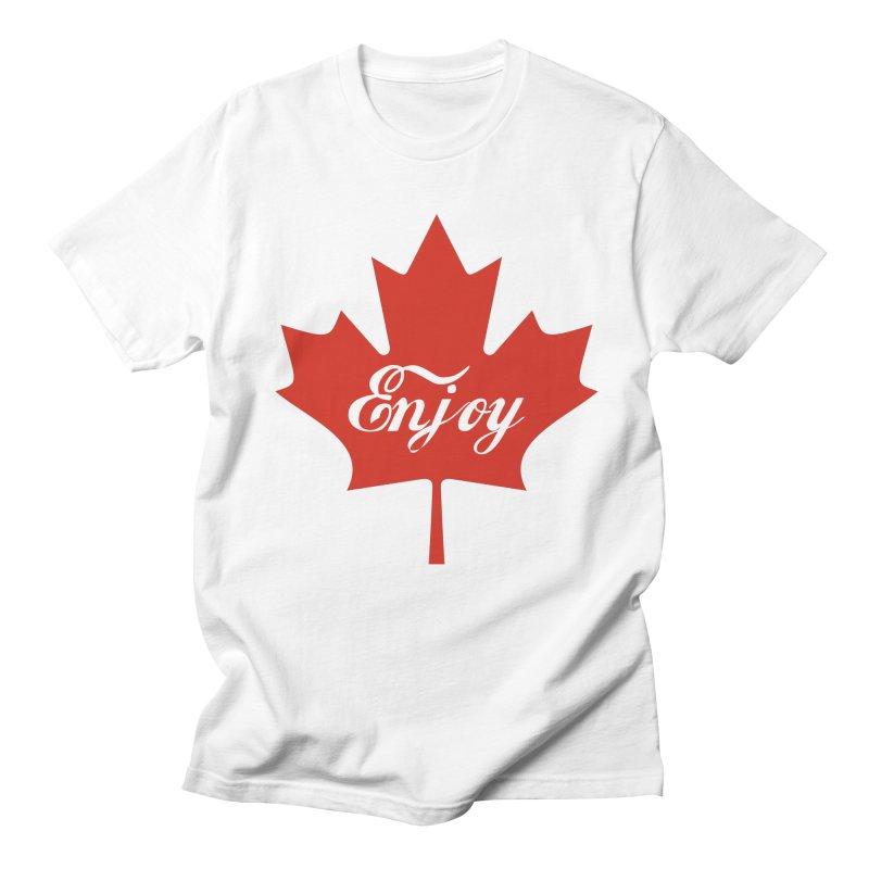 Enjoy Canada Women's Regular Unisex T-Shirt by