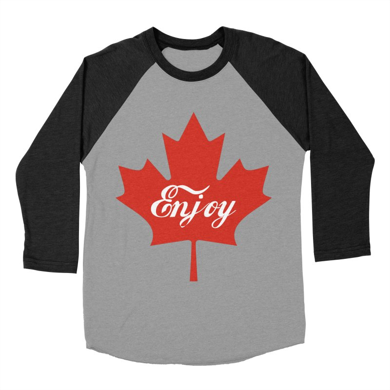 Enjoy Canada Women's Baseball Triblend Longsleeve T-Shirt by