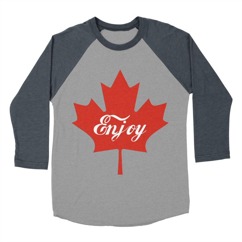 Enjoy Canada Women's Baseball Triblend Longsleeve T-Shirt by
