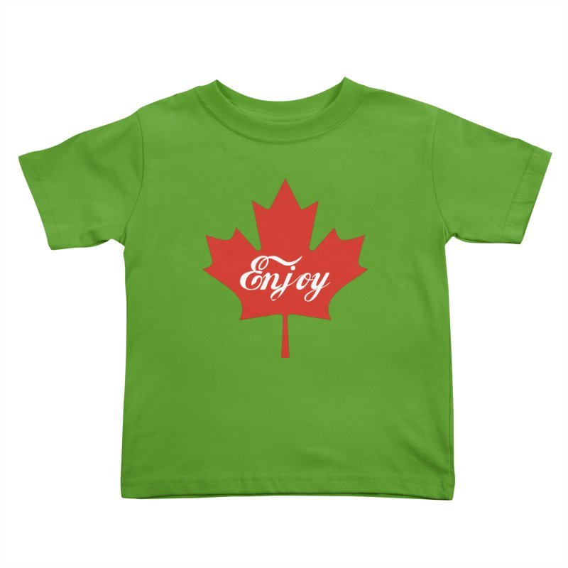 Enjoy Canada Kids Toddler T-Shirt by