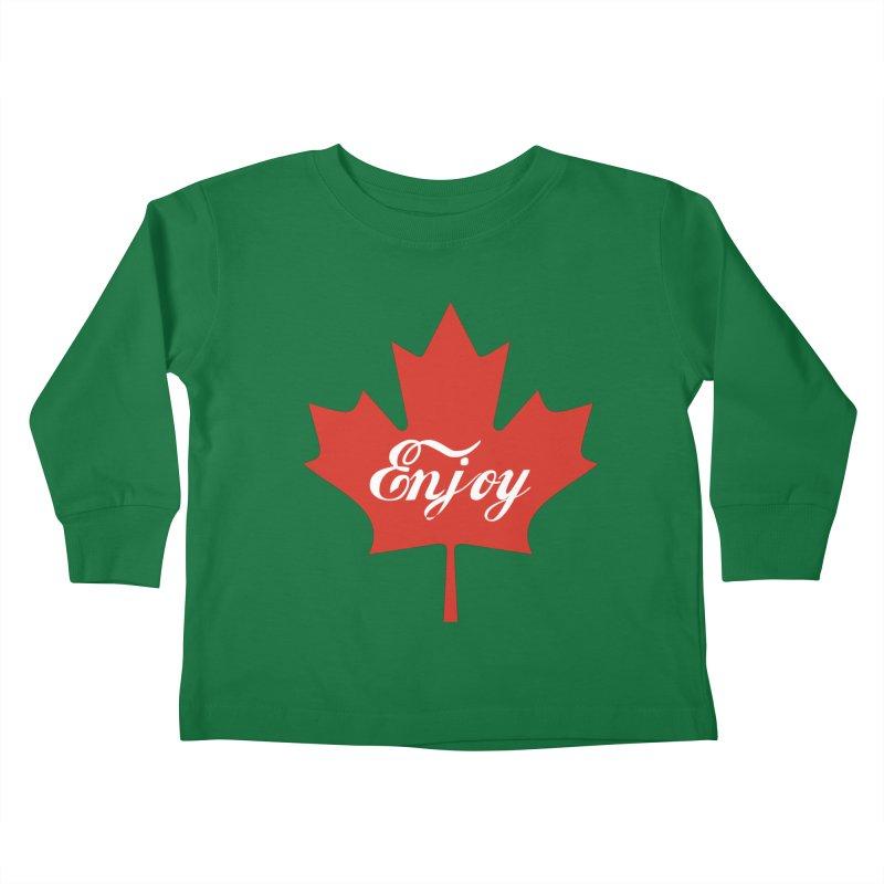Enjoy Canada Kids Toddler Longsleeve T-Shirt by