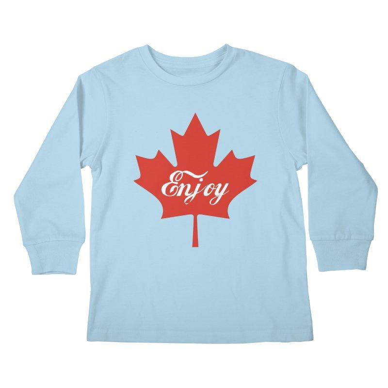 Enjoy Canada Kids Longsleeve T-Shirt by