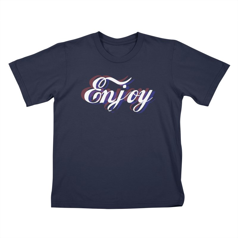 Enjoy 3D Kids T-Shirt by