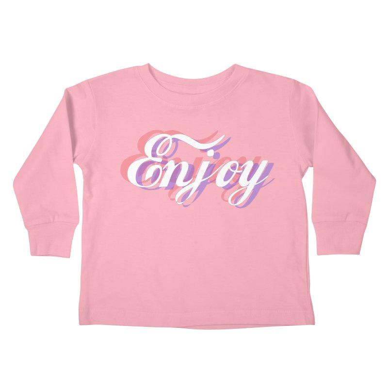 Enjoy 3D Kids Toddler Longsleeve T-Shirt by