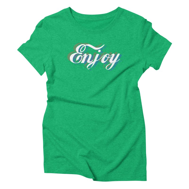 Enjoy 3D Women's Triblend T-Shirt by