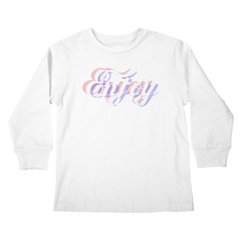 Enjoy 3D Kids Longsleeve T-Shirt by