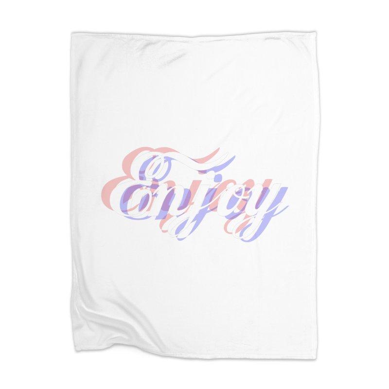 Enjoy 3D Home Blanket by Enjoy or Die