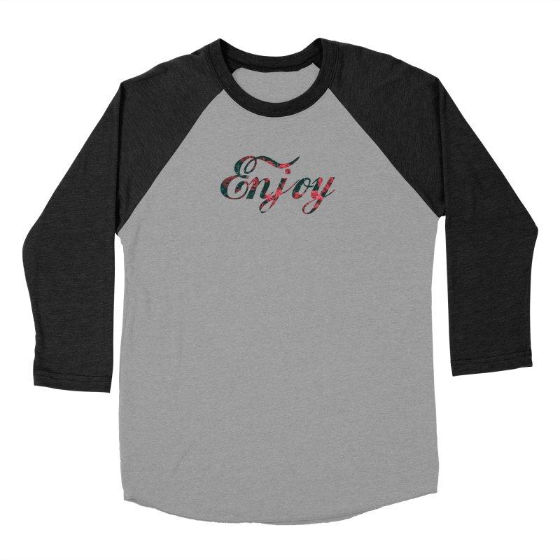 Enjoy the Roses Men's Baseball Triblend Longsleeve T-Shirt by