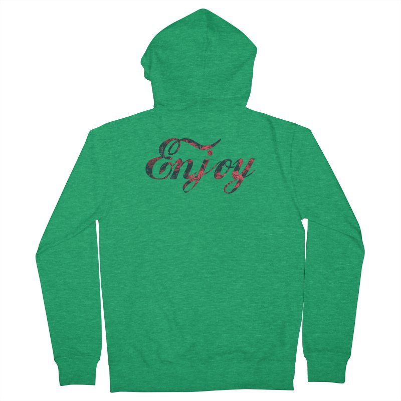 Enjoy the Roses Women's French Terry Zip-Up Hoody by