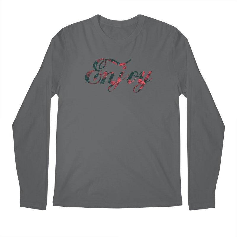 Enjoy the Roses Men's Longsleeve T-Shirt by Enjoy or Die