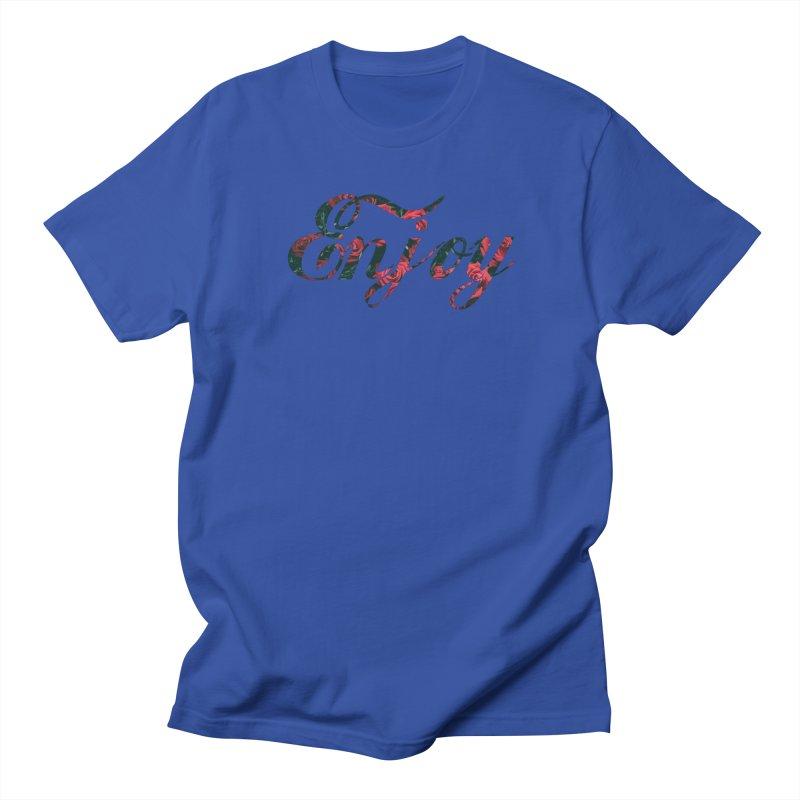 Enjoy the Roses Women's Regular Unisex T-Shirt by