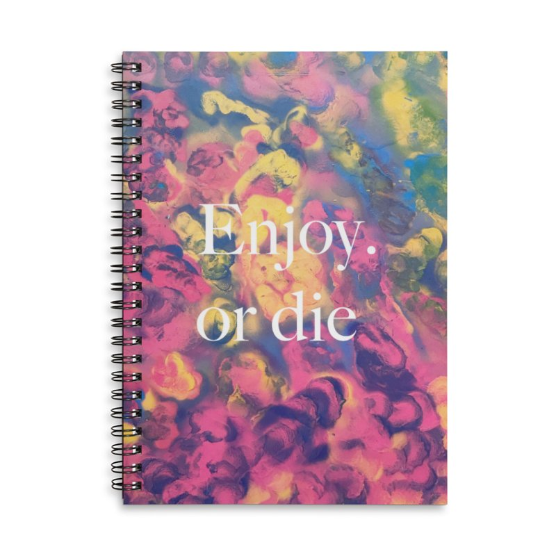 Zion By Andy Adel Accessories Lined Spiral Notebook by