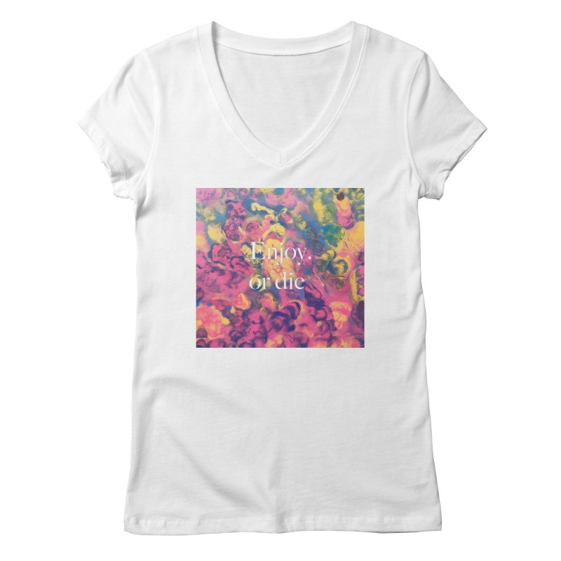 Zion By Andy Adel Women's Regular V-Neck by