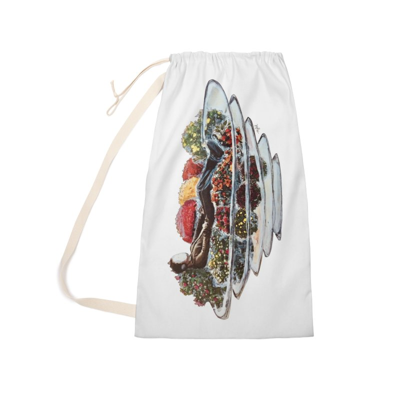You've Got to Stop and Smell the Flowers Accessories Laundry Bag Bag by