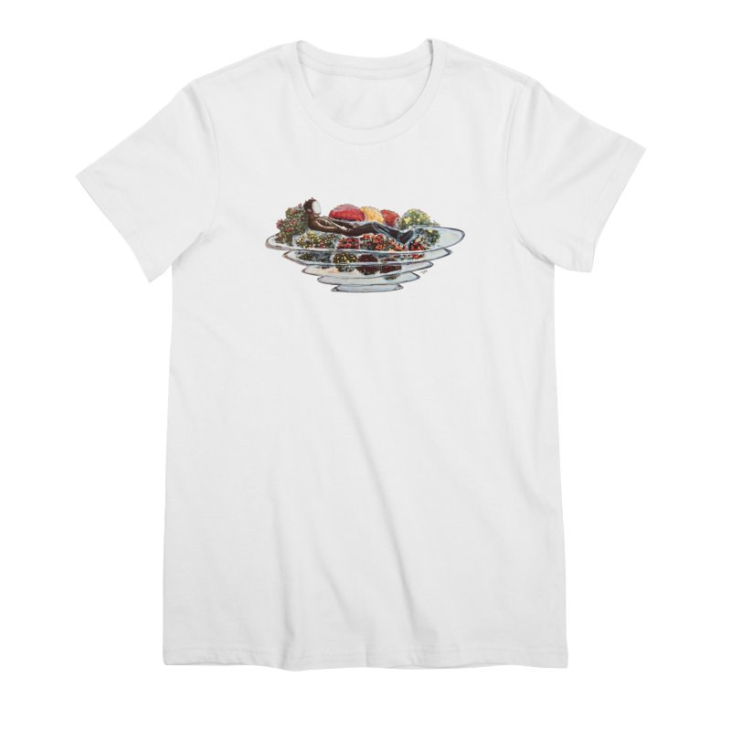 You've Got to Stop and Smell the Flowers Women's Premium T-Shirt by