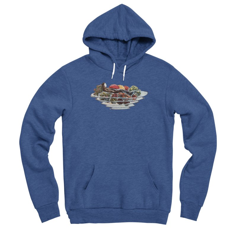 You've Got to Stop and Smell the Flowers Men's Sponge Fleece Pullover Hoody by