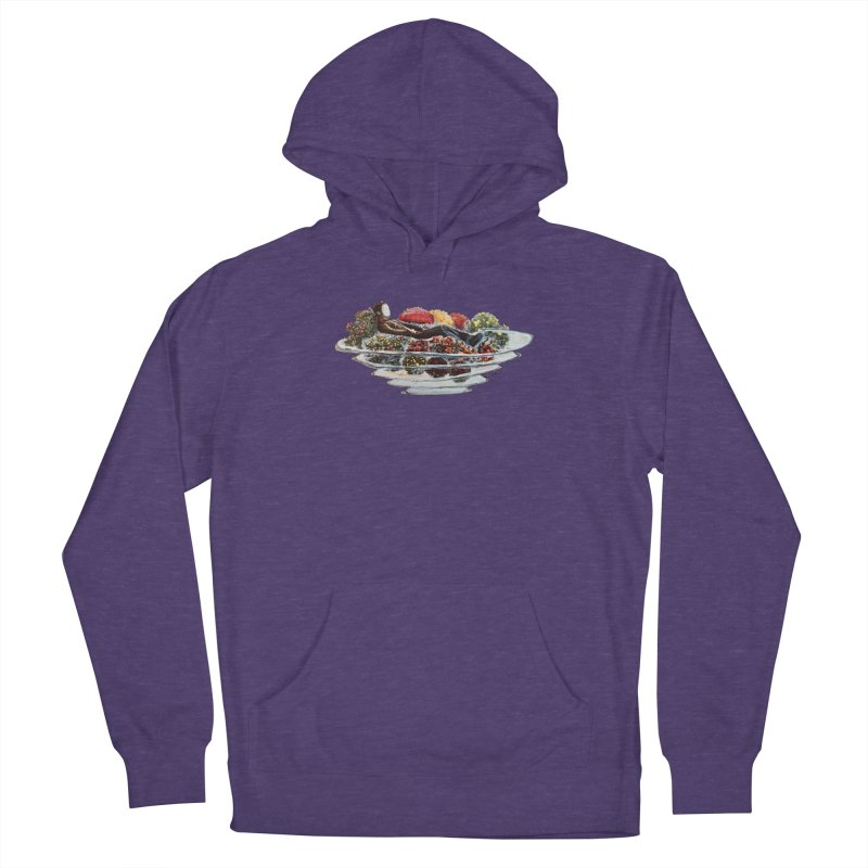 You've Got to Stop and Smell the Flowers Women's French Terry Pullover Hoody by