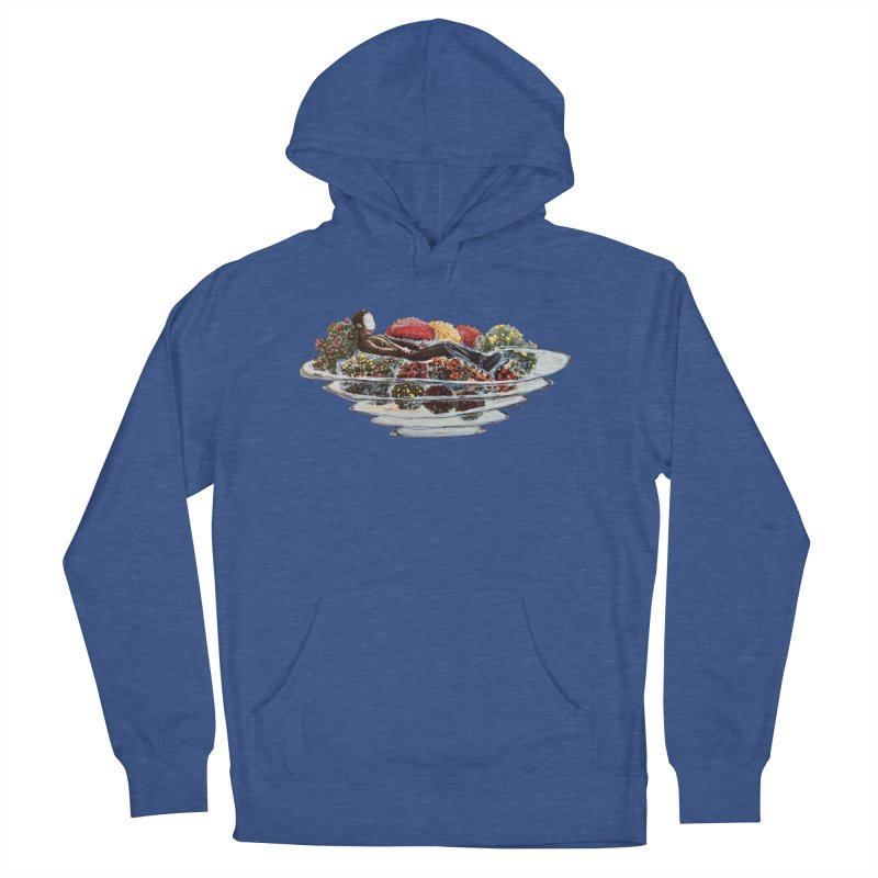 You've Got to Stop and Smell the Flowers Men's French Terry Pullover Hoody by
