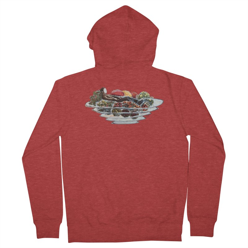 You've Got to Stop and Smell the Flowers Men's French Terry Zip-Up Hoody by