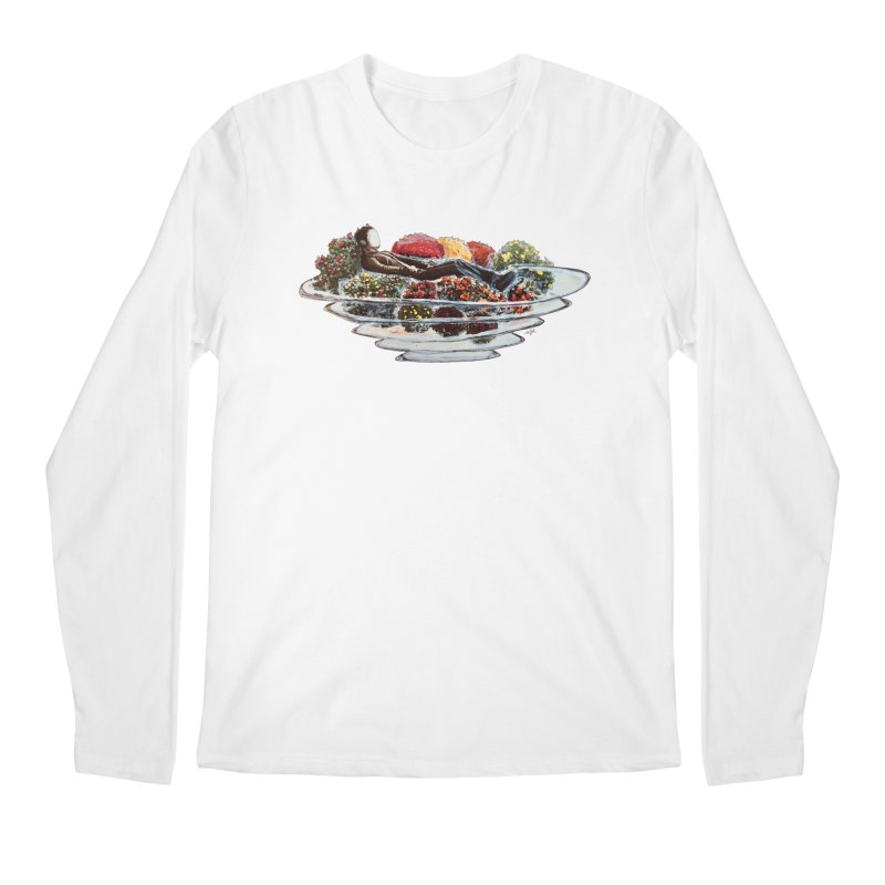 You've Got to Stop and Smell the Flowers Men's Regular Longsleeve T-Shirt by