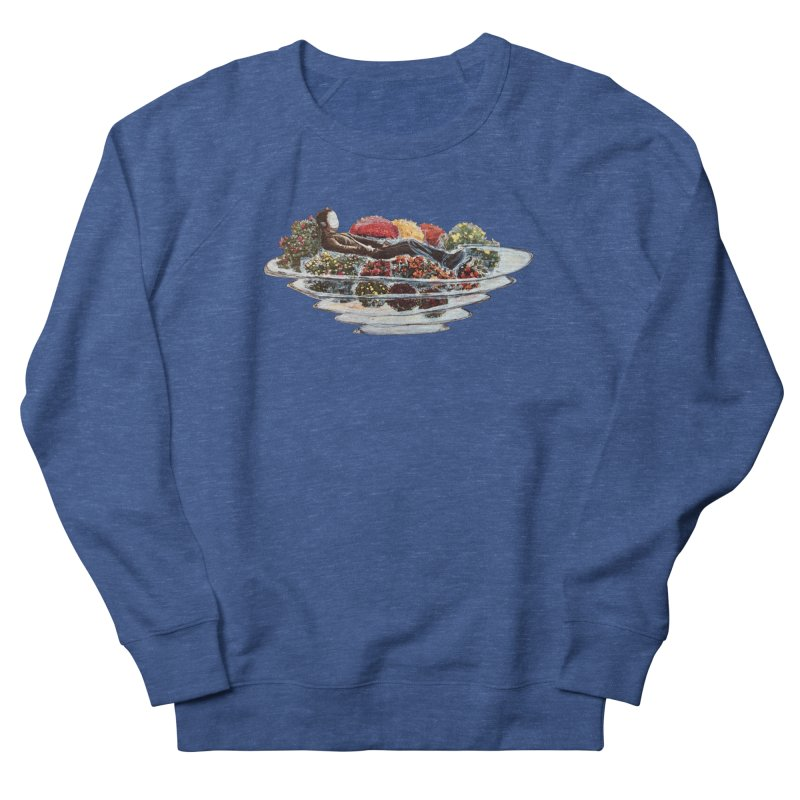 You've Got to Stop and Smell the Flowers Men's French Terry Sweatshirt by