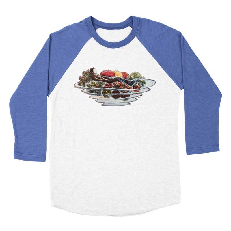 You've Got to Stop and Smell the Flowers Men's Baseball Triblend Longsleeve T-Shirt by