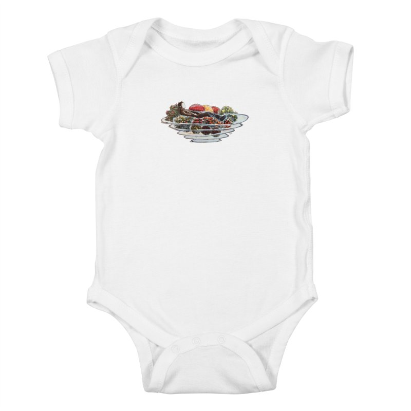 You've Got to Stop and Smell the Flowers Kids Baby Bodysuit by