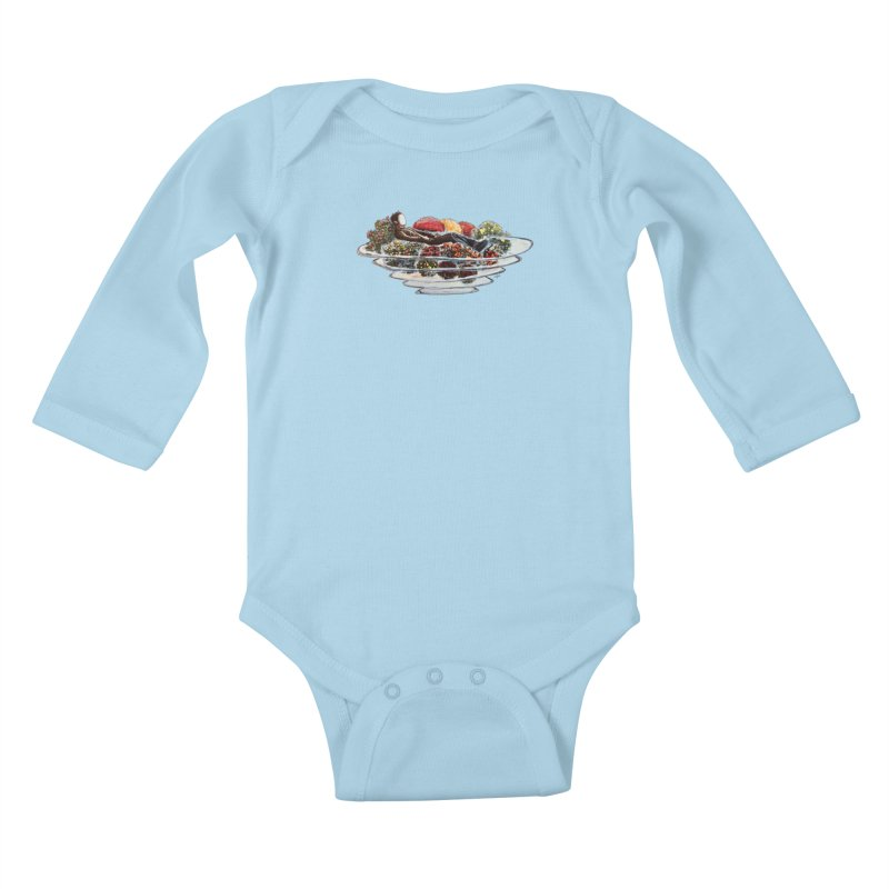 You've Got to Stop and Smell the Flowers Kids Baby Longsleeve Bodysuit by