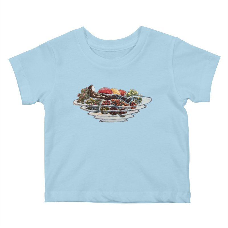 You've Got to Stop and Smell the Flowers Kids Baby T-Shirt by