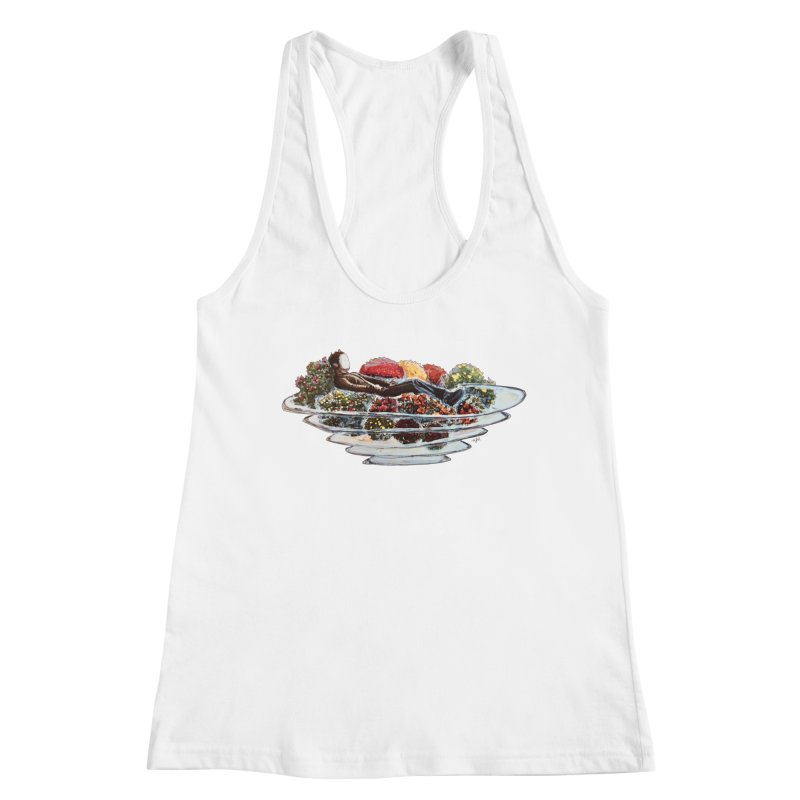 You've Got to Stop and Smell the Flowers Women's Racerback Tank by