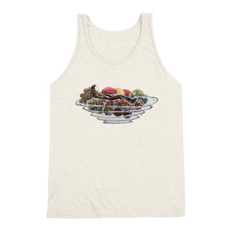 You've Got to Stop and Smell the Flowers Men's Triblend Tank by