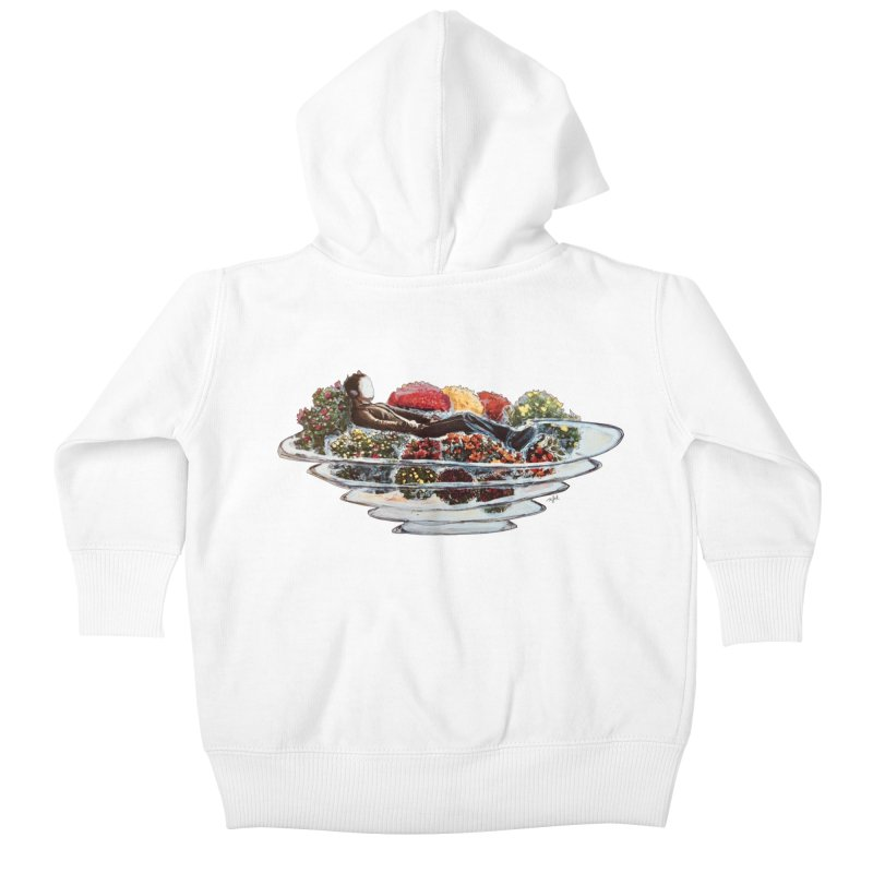 You've Got to Stop and Smell the Flowers Kids Baby Zip-Up Hoody by