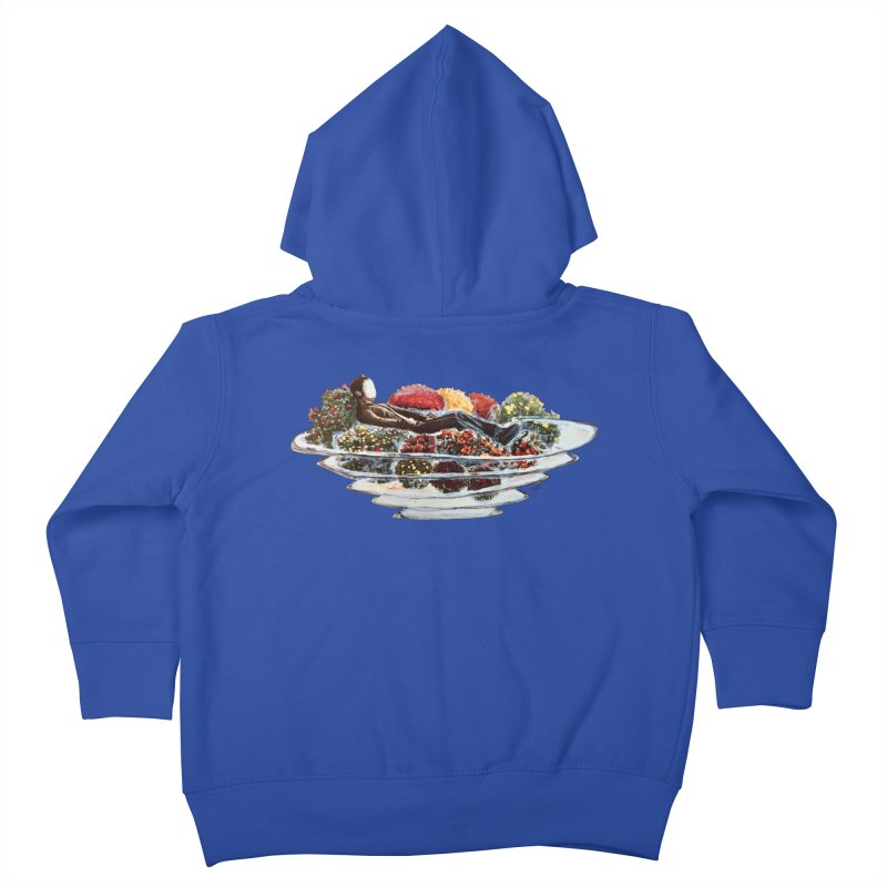 You've Got to Stop and Smell the Flowers Kids Toddler Zip-Up Hoody by
