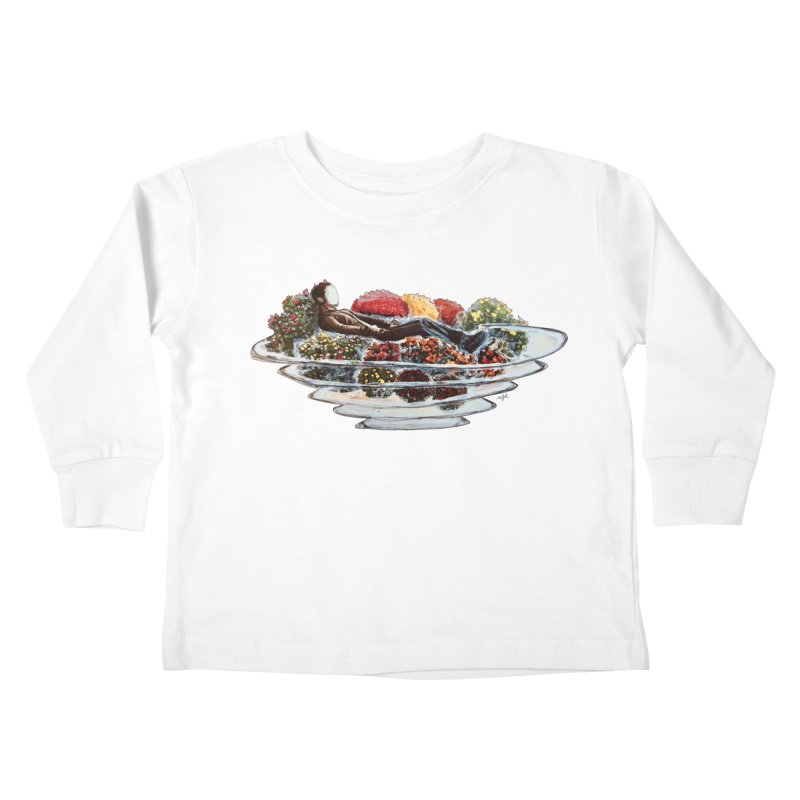 You've Got to Stop and Smell the Flowers Kids Toddler Longsleeve T-Shirt by