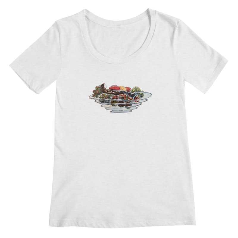 You've Got to Stop and Smell the Flowers Women's Regular Scoop Neck by