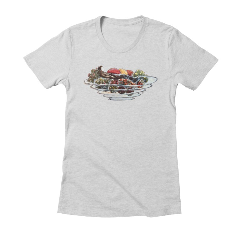 You've Got to Stop and Smell the Flowers Women's Fitted T-Shirt by