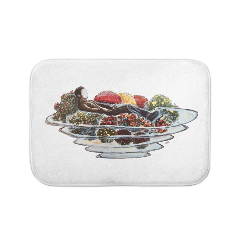You've Got to Stop and Smell the Flowers Home Bath Mat by