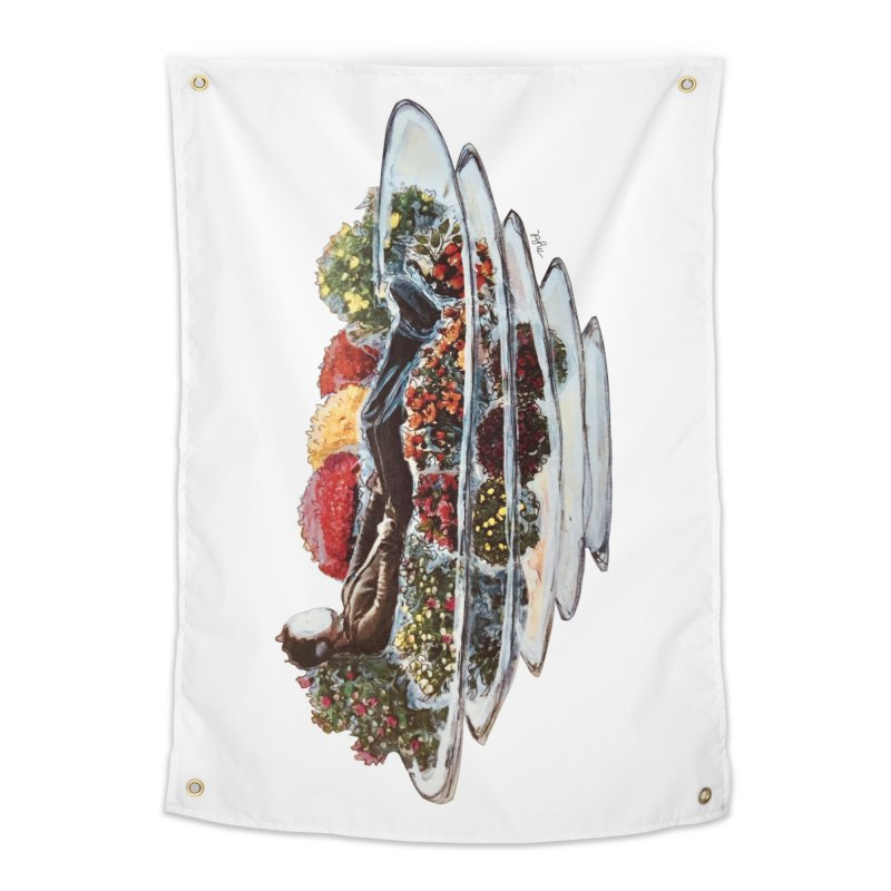 You've Got to Stop and Smell the Flowers Home Tapestry by