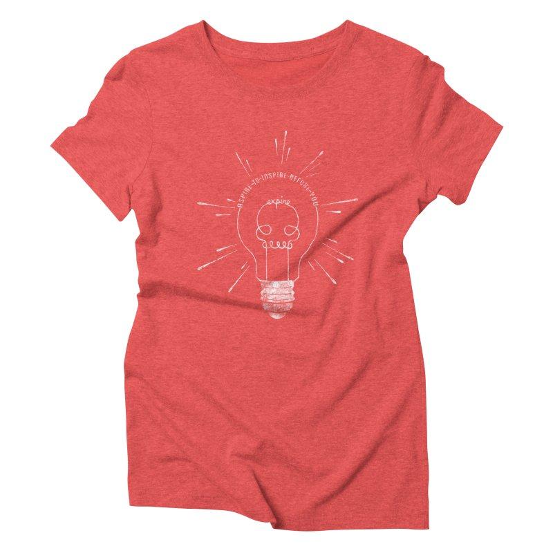 INSPIRE (grunge) Women's Triblend T-Shirt by EnoLa's Artist Shop