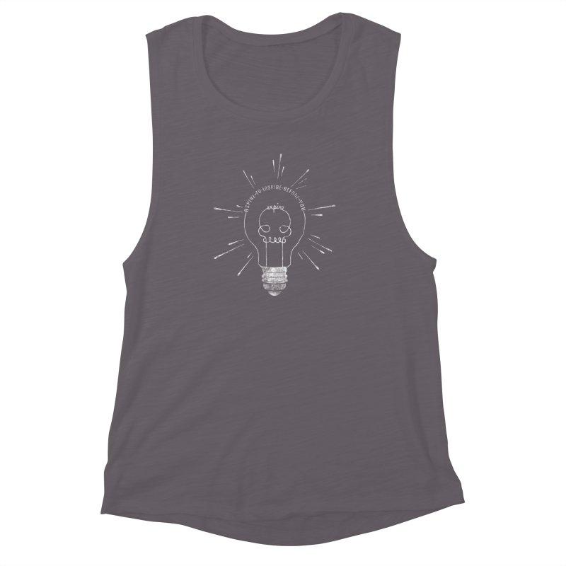 INSPIRE (grunge) Women's Muscle Tank by EnoLa's Artist Shop