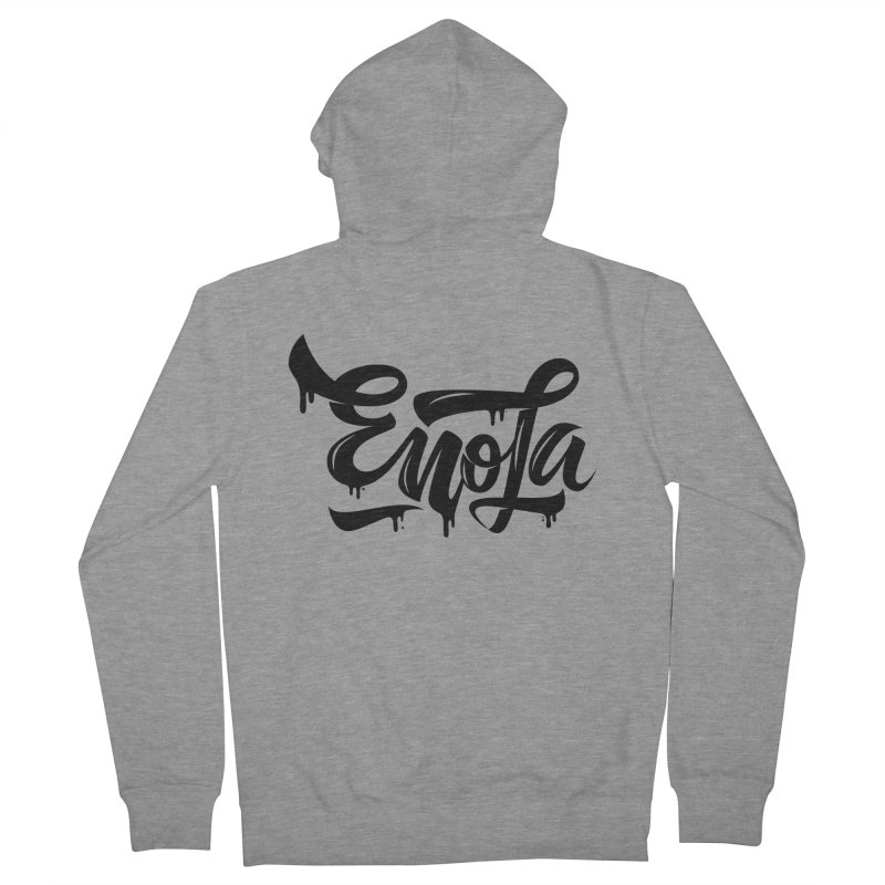 EnoLa drip Men's Zip-Up Hoody by EnoLa's Artist Shop